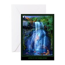 Only in Dreams Greeting Cards (Pk of 10)