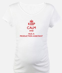 Keep Calm and Hug a Production Assistant Shirt