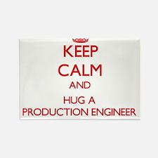 Keep Calm and Hug a Production Engineer Magnets