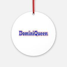 DominQueen Ornament (Round)