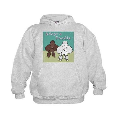 Adopt a Poodle! Kids Hoodie
