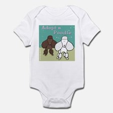 Adopt a Poodle! Infant Bodysuit