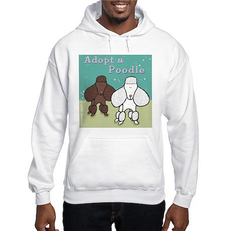 Adopt a Poodle! Hooded Sweatshirt