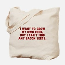 Bacon Seeds Tote Bag