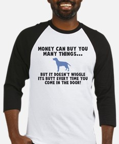 Money can't wiggle its butt Baseball Jersey