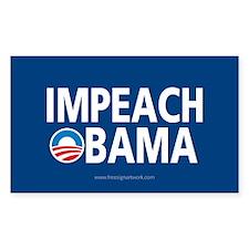 Anti Obama Logo Decal Decal
