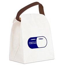 Chill Pill Canvas Lunch Bag