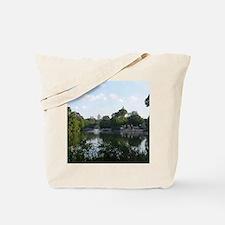 Atlanta Piedmont Park City Lake and Skyli Tote Bag