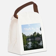 Atlanta Piedmont Park City Lake a Canvas Lunch Bag
