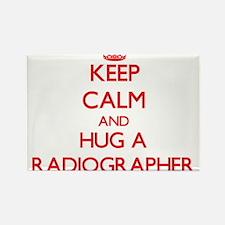 Keep Calm and Hug a Radiographer Magnets