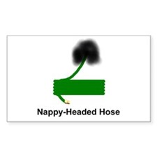 Nappy-Headed Hose Rectangle Decal