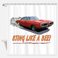 STING LIKE A BEE! Shower Curtain