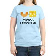 Couples Mac and Cheese Pair T-Shirt