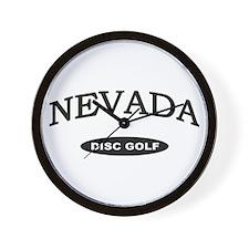 Nevada Disc Golf Wall Clock