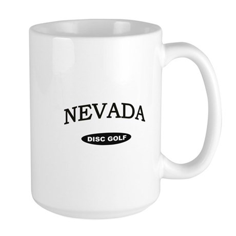Nevada Disc Golf Large Mug