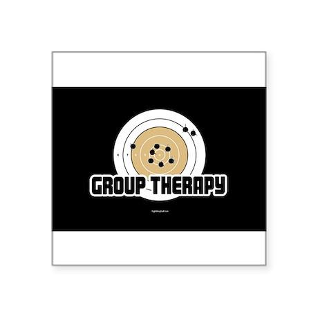 Group Therapy - Gun Sticker
