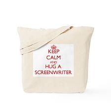 Keep Calm and Hug a Screenwriter Tote Bag