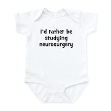 Study neurosurgery Infant Bodysuit