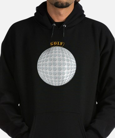 Golf with Text Hoodie (dark)
