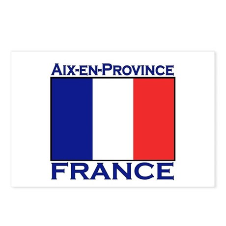 Aix-en-Provence, France Postcards (Package of 8)
