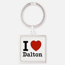 I love Dalton Square Keychain