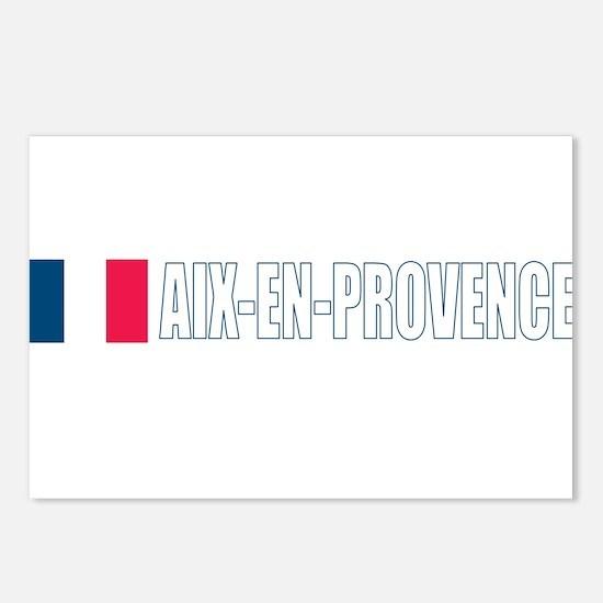 Aix-en-Provence, France Postcards (Package of 8)