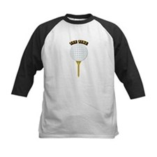 Golf Tee-Time with Text Tee