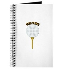 Golf Tee-Time with Text Journal