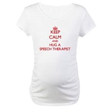 Keep Calm and Hug a Speech Therapist Shirt