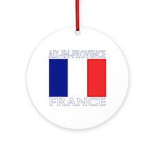 Aix-en-Provence, France Ornament (Round)
