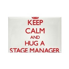 Keep Calm and Hug a Stage Manager Magnets