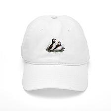 Cute Watercolor Puffin Ocean Bird Art Hat