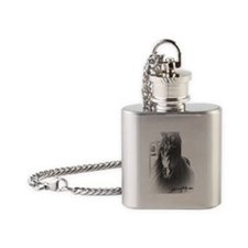 HORSE Flask Necklace
