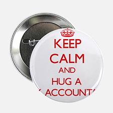 "Keep Calm and Hug a Tax Accountant 2.25"" Button"