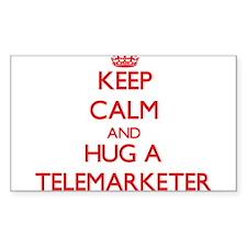 Keep Calm and Hug a Telemarketer Decal