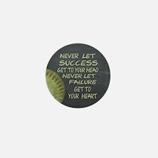 Success Fastpitch Softball M Mini Button (10 pack)