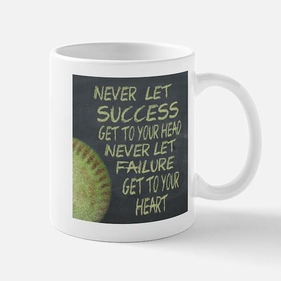 Success Fastpitch Softball Motivational Mug