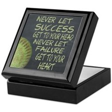 Success Fastpitch Softball Motivation Keepsake Box