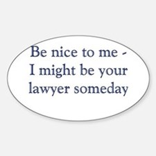 Lawyer Someday Decal