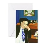 THE DETECTIVE Greeting Cards (Pk of 10)