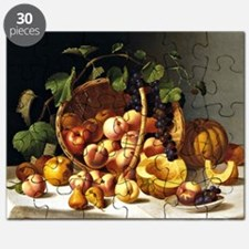 A Basket of Fruit, John F. Francis painting Puzzle
