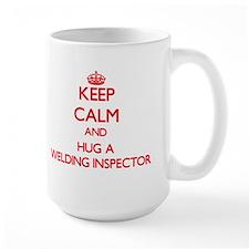 Keep Calm and Hug a Welding Inspector Mugs