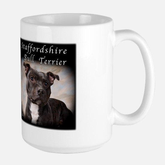 Staffordshire Bull Terrier Large Mug
