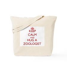 Keep Calm and Hug a Zoologist Tote Bag
