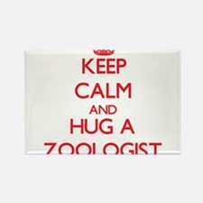 Keep Calm and Hug a Zoologist Magnets