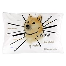 wow such doge Pillow Case