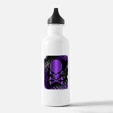 Cute Purple skull Water Bottle