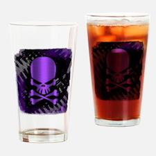 Unique Purple skull Drinking Glass