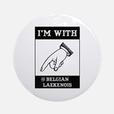 With the Laekenois Ornament (Round)