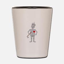 Wizard Of Oz Tin Man Shot Glass
